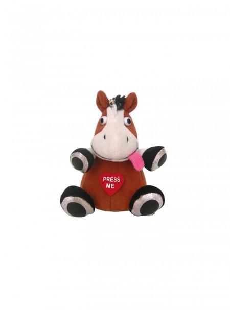 Музичний брелок іграшка «Кінь» від компанії НКМ Фото