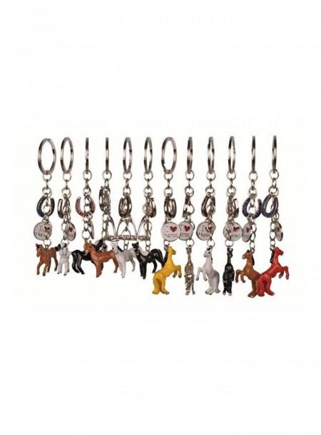 Яскравий брелок на ключі «Кінь» від фірми НКМ Фото