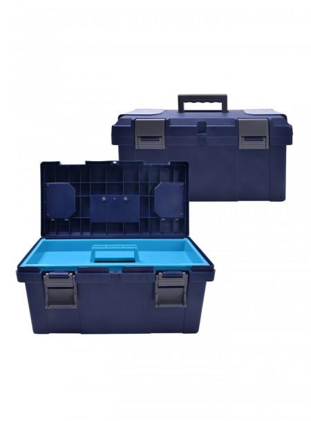 Ящик для зберігання щіток синій QHP Фото