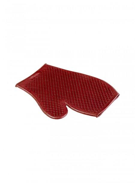 Гумова рукавичка для миття тварин Horze за доступною ціною Фото