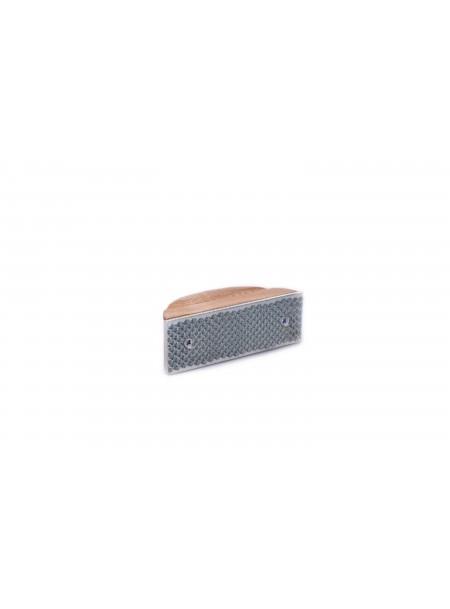 Зручний рашпіль для шліфування копит скакуна з дерев'яною ручкою 12,5 см. Ekkia Фото