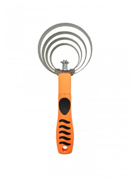 Скребниця спіраль від фірми HIPPOTONIC зі зручною пластиковою ручкою Фото