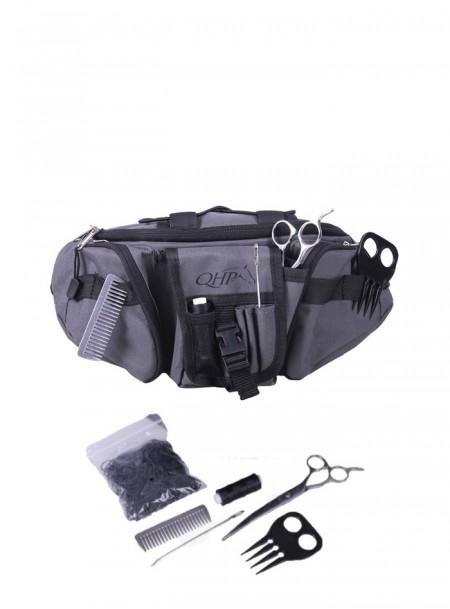 Сумка – ремінь з набором для догляду за гривою або для грумінгу від компанії QHP Фото
