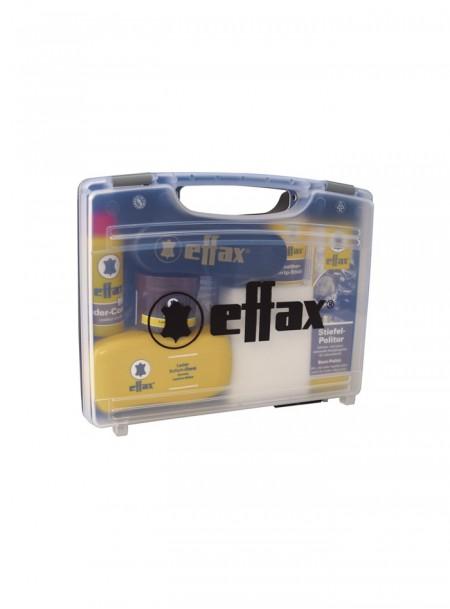 Набір для догляду за виробами зі шкіри кінного спорту в футлярі від ТМ Effax Фото