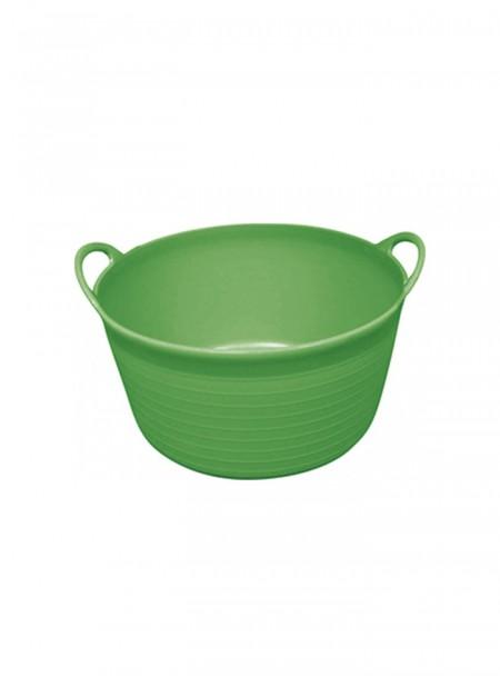 Пластиковий таз на 12 літрів в зеленому кольорі від фірми HIPPOTONIC Фото