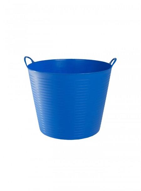 Пластикове відро для конюшні Zofty Flexible синього кольору на 3,5 галона Фото