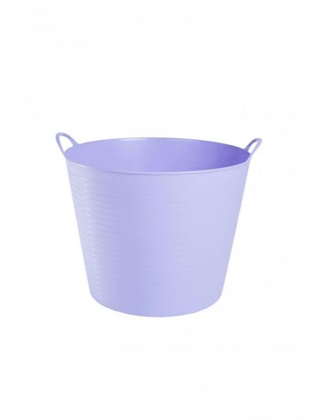 Фіолетове відро для конюшні Zofty Flexible 3,5 галона Фото