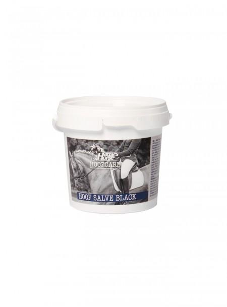 Жир для копит з вазеліном і натуральним лавровим маслом чорного кольору Harry's Horse 500мл Фото