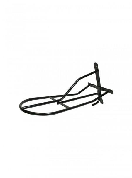 Вішалка для сідла (кронштейн) HKM чорного кольору Фото