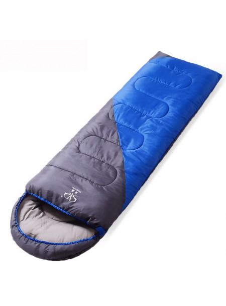 Спальний мішок ковдра з капюшоном на ріст 190 см. Фото
