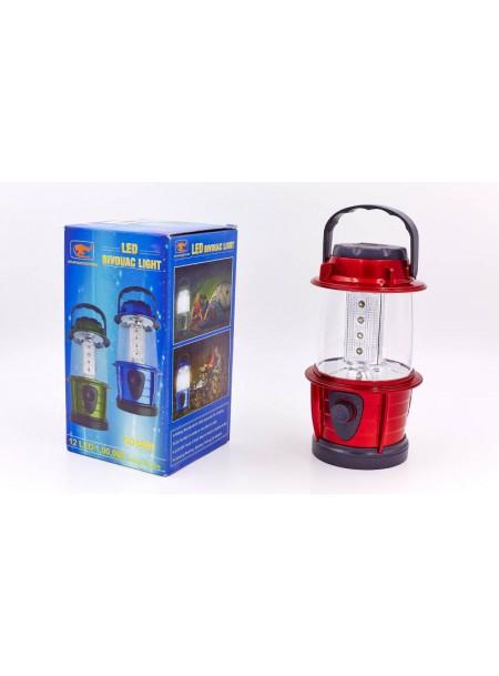 Ліхтар кемпінговий світлодіодний переноcний на 12 LED ламп Фото