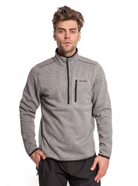 Сірий пуловер для чоловіків з нагрудним карманом Craghoppers Фото