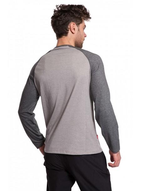 Сіра футболка довгорукавка для чоловіків від фірми Craghoppers Фото