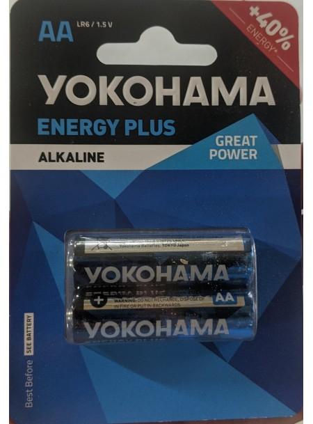 Батарейки Yokohama АА 2 шт. в блістері Фото