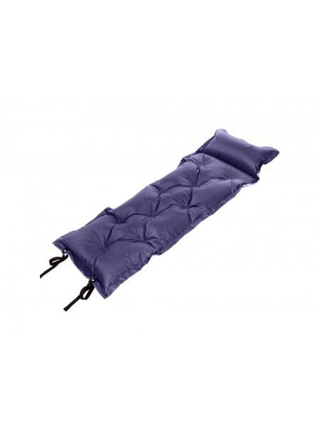Туристичний килимок самонадувний з подушкою Record Фото