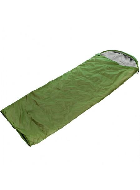Спальний мішок ковдра з капюшоном Record Фото