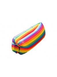 Надувний матрац Ламзаки AIR sofa Rainbow Веселка
