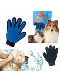 Рукавичка для вичісування шерсті з домашніх тварин Pet Brush Glove (ПРАВА)