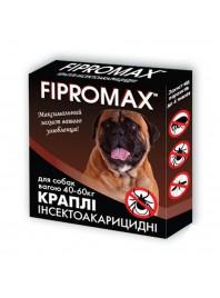 Краплі FIPROMAX д/великих собак вагою 40-60 кг