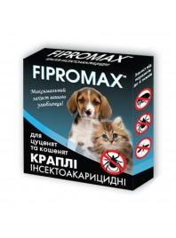 Краплі FIPROMAX д/кошенят і цуценят вагою 1,5-4 кг